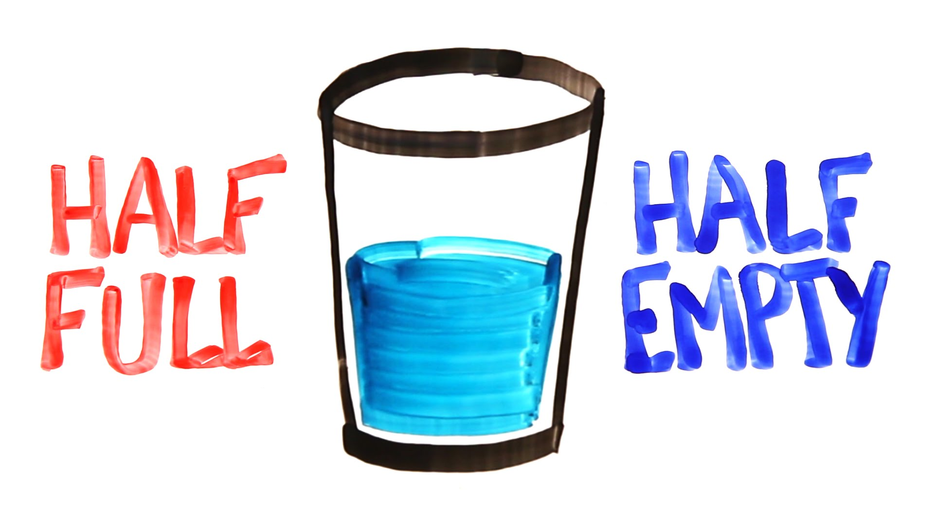 Link to Half full-Half empty glasses