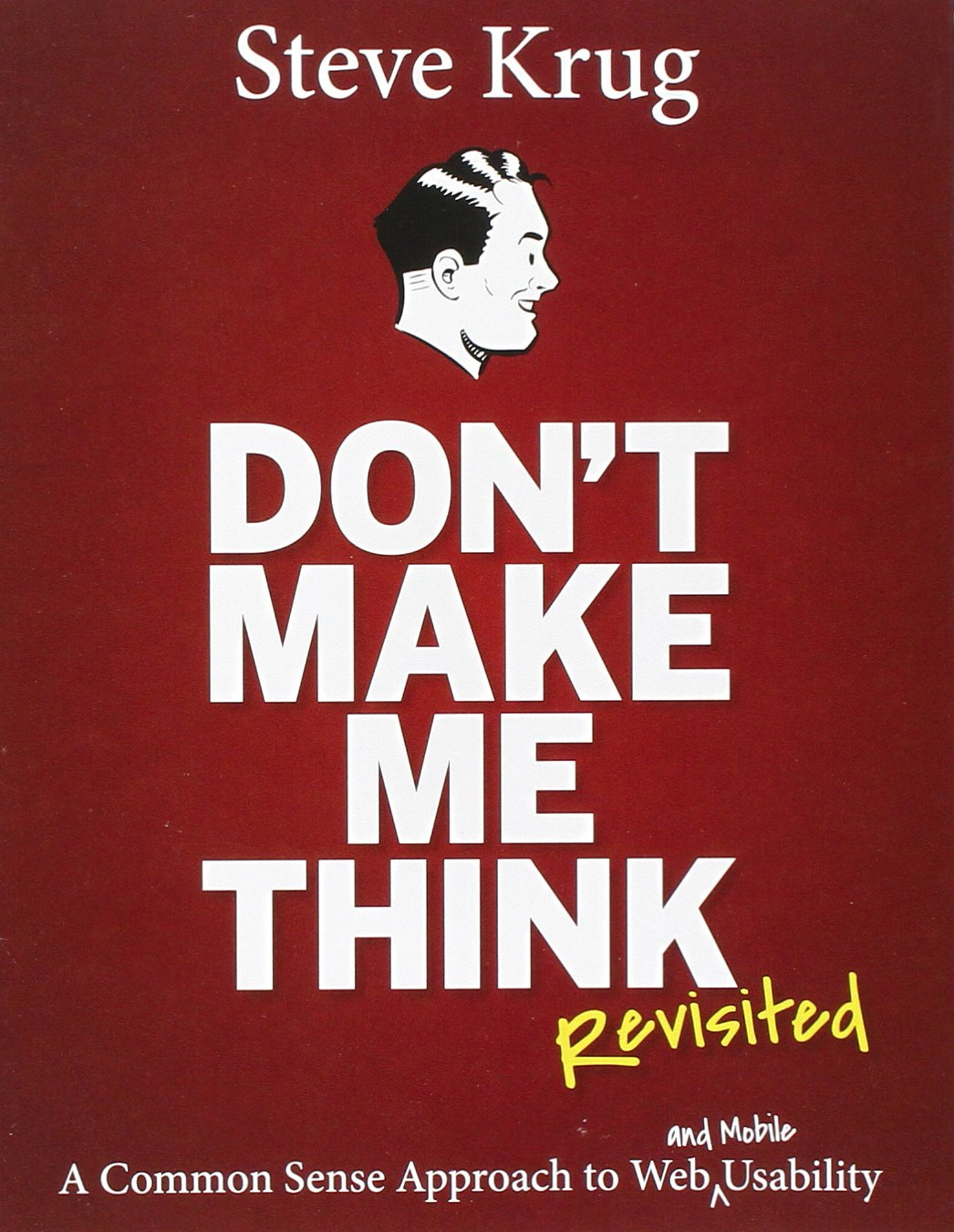 Link to Book Review: Don't make me think