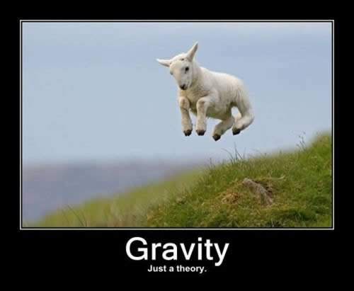 Link to Oh but gravity is just a theory!